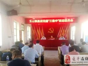 """遂平县玉山镇扎实开展党建""""三集中""""活动"""