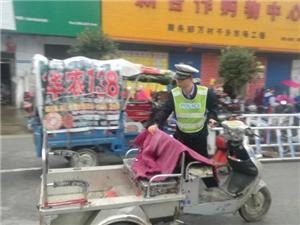 遂平县交警大队开展交通违法行为专项整治行动