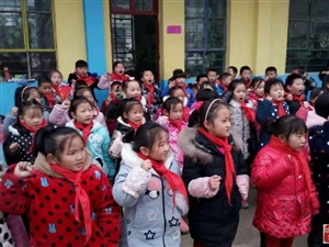 车站镇焦庄学校传承红色基因主题教育活动