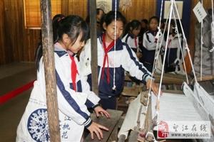 望江县第一小学师生到安庆皖江中等专业学校研学旅行