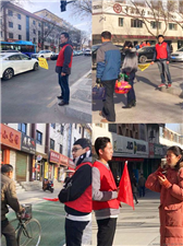 千赢国际|最新官网市城乡建设局文明出行交通劝导志愿活动