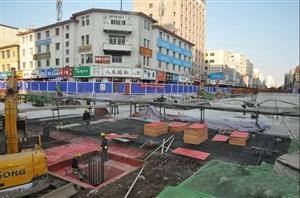 天水火车站站前广场改造工程本月底将完成地面恢复工程!