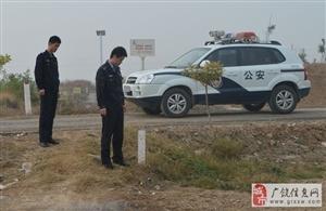 【广饶公安】陈官派出所开展输油管线安全检查活动