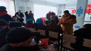 正蓝旗司法局开展法治乌兰牧骑普法宣传进社区活动