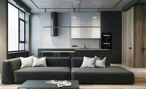 室内装修混凝土原来可以这么用,家具刚刚进场,效果就出来了!