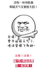 桐城要大降温!暴跌至-1℃!还有雨夹雪......