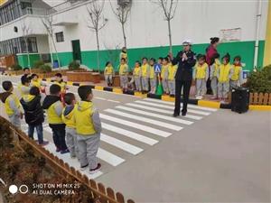 """我是交通安全小达人 ――合阳县海峰幼儿园开展""""交通安全进校园""""活动"""