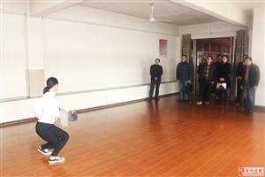 市文广新局领导到安庆皖江中等专业学校视察指导黄梅戏进校园工作
