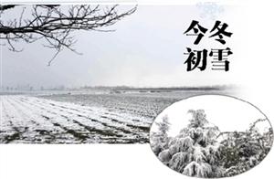 下雪了!威尼斯人游戏官网今冬的初雪飘飘洒洒!中央气象台都发贺电了