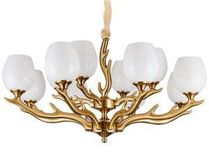 锌合金客厅吊灯