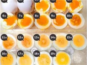 【�食�y�}】煮蛋�r�g表,教您煮出不同成熟度的水煮蛋