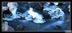 向阳湖冰瀑
