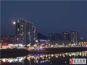 盐亭:月色下的初冬,月是故乡分外明