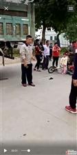 揭西县大溪镇车祸,一小孩受伤