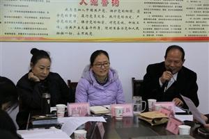 旬阳太极城文化研究会2018年工作汇报座谈会