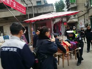 广安区城管执法局积极治理新南门