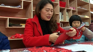 丰都剪纸艺术家田婵娟,带你走进她的剪纸人生!