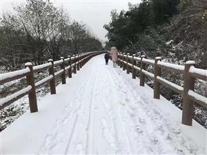 2018年冬季第一场大雪,很美!