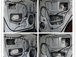 大同汽车隔音改装 太原朗声汉兰达改装俄罗斯STP