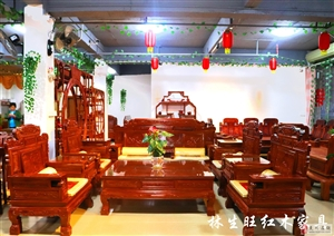 在寒冷的冬季,林生旺红木馆给您送祝福啦!