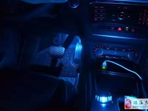 奔驰GLA改12色氛围灯 一键启动 无钥匙进入奔驰原厂德系加装