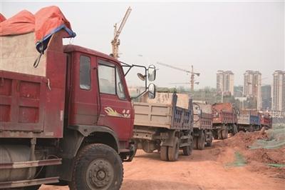 仁寿县怀仁大道项目建设正在加快推进