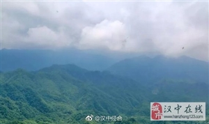 汉中南郑这座山,与龙头山共享云海美景