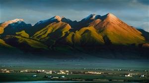 藏北大草原的早晨