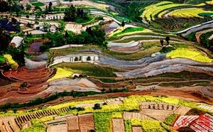千年水梯田,摄影师眼中的泥汉坪原来这么美!