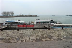运河边上的窑湾港