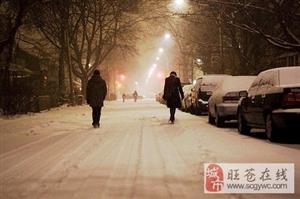 在旺苍,下雪的时候一定要和她出去走走……