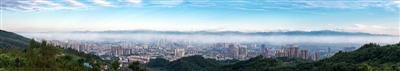 龙泉山城市森林公园;打造城市中的生态绿洲