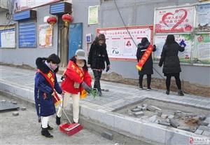 """并州路小学:""""助力共创文明太原城""""党员志愿活动"""