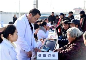 潢川县党外知识分子联谊会、县第二人民医院到魏岗乡开展健康扶贫诊活动