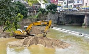 龙潭河流整治工作正有序推进中