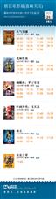 万博manbetx客户端苹果横店电影城12月21日影讯