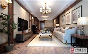 深木色+布艺,打造自由美式空间,全屋木地板真的太惊艳!