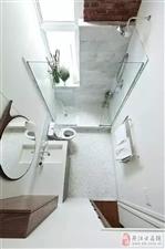 虽然只有4�O,卫浴也能清新有格调!