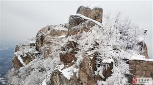 大美金寨之冬游悬剑山