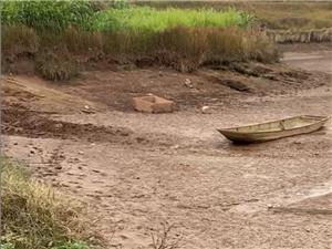 汪家镇有个村的塘现在放干水了请有关部门关注一下