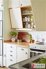 第一次见这样装的厨房吊柜,原来可以这么美!这么实用!