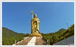 行走随拍――九华山之三大佛景区(26)安徽池州市