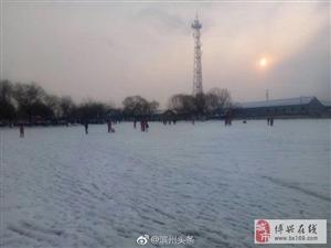 看看人家滨州的雪,博兴的雪你在哪里?