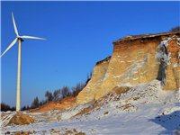 冬季橫岱山風電