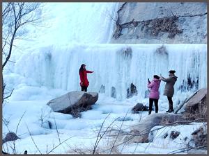 石�X水�烀谰叭绠�,冬季值得一玩!