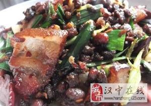 简单粗暴!汉中人的爱――豆豉炒腊肉
