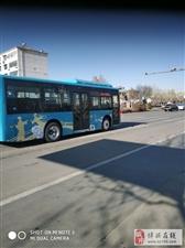 出门偶遇了博城新的风景线――――――博城公交