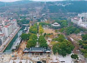 象山景区主体工程基本完工景区东入口计划8日建成开放