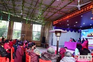 县健身秧歌协会庆祝改革开放四十年文艺演出