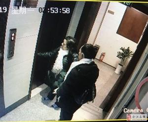 宾馆半夜遭小偷